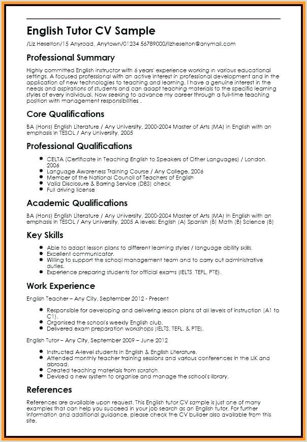 Resume Samples Under Templates Powerpoint 2013 Tefl Cv