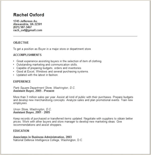 Best Buyer Resume Sample Resume Design
