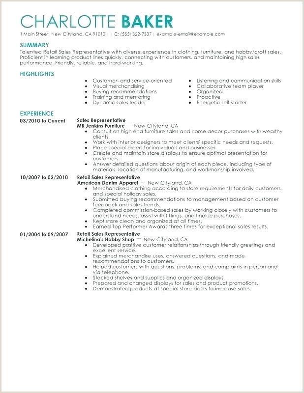 resume template for sales job
