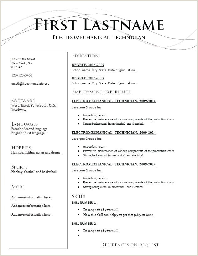 Latest Cv format for Microbiologist Resume Word Template 2017 Latest Resume format Latest Resume