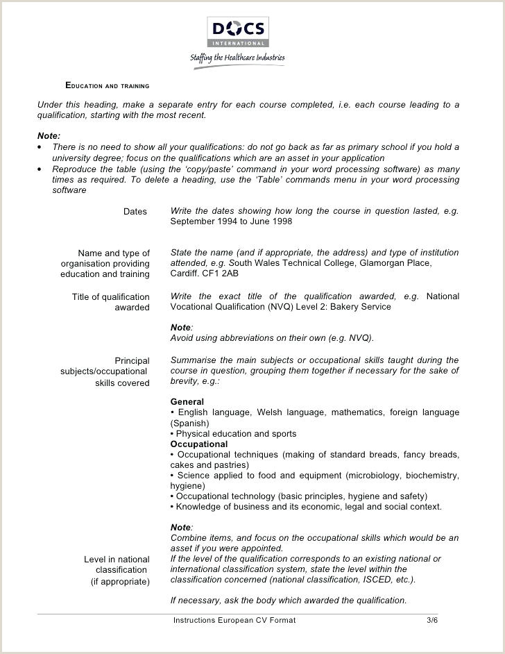 Latest Cv format for Microbiologist Template Standard Resume Latest Free Resumes Samples Unique