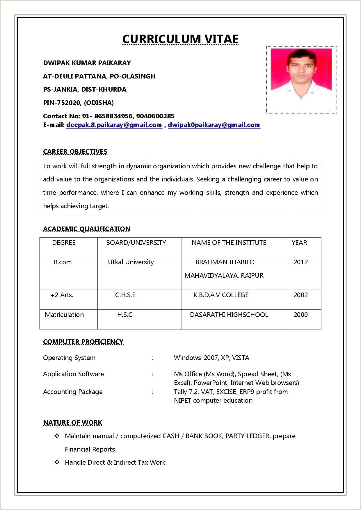 Latest Cv format for Sales and Marketing 78 Best Collection Resume Examples Vp Sales