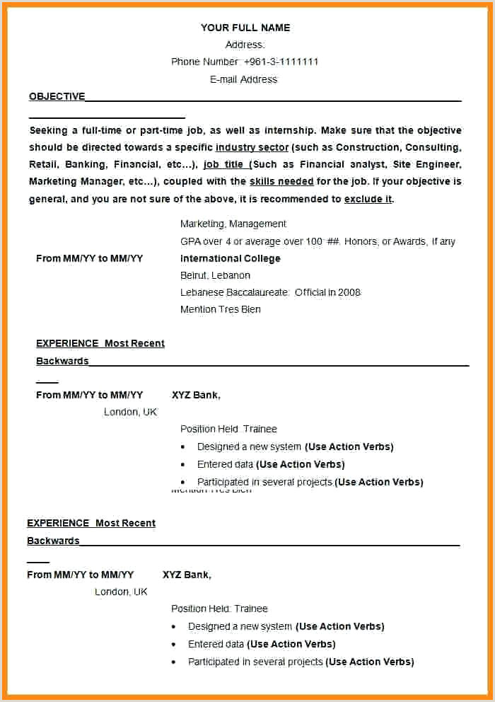 Latest Cv format for Sales and Marketing Cv Marketing Template – Arcgerontologyfo