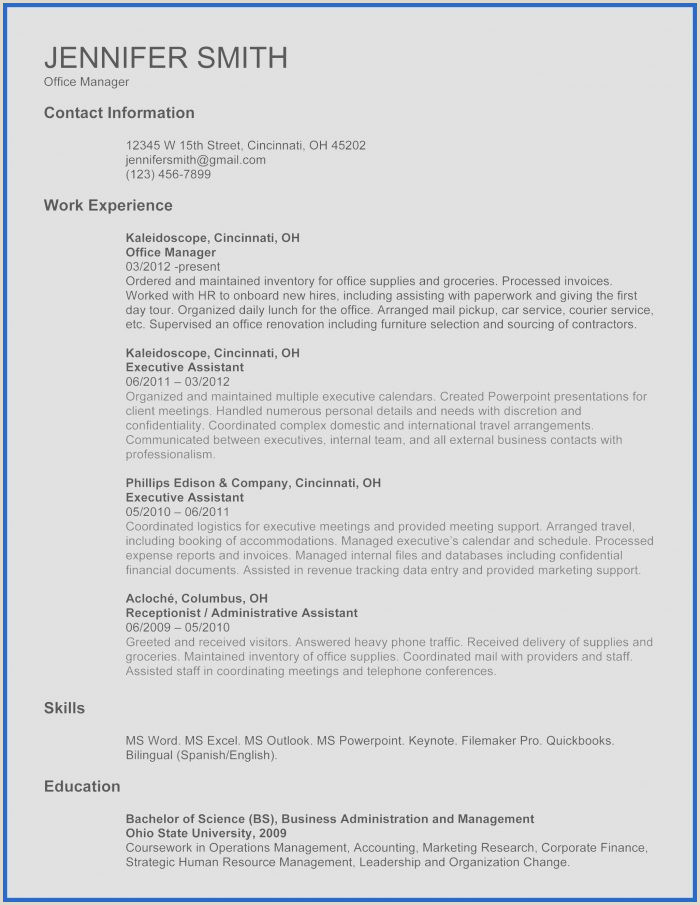 Latest Cv format for Sales and Marketing Resume Templates for Word 2007 Resume Resume Designs
