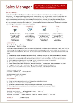 Latest Cv format for Sales Manager Management Cv Template Managers Jobs Director Project