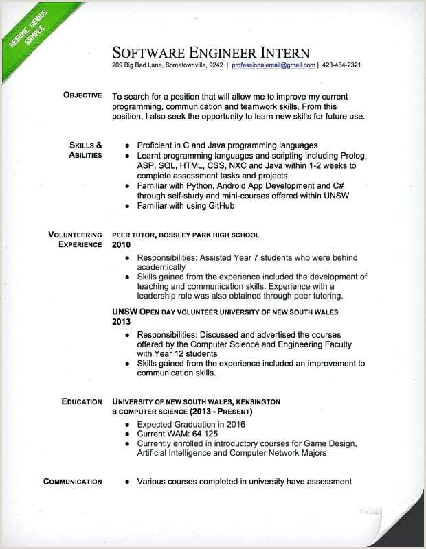resume samples engineering – wikirian