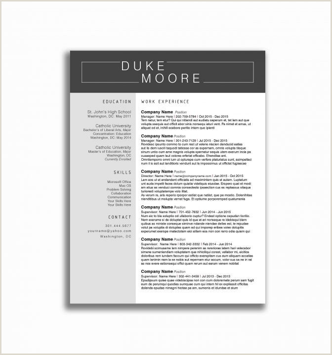 Recent Graduate Resume Template Free Student Teacher Resume
