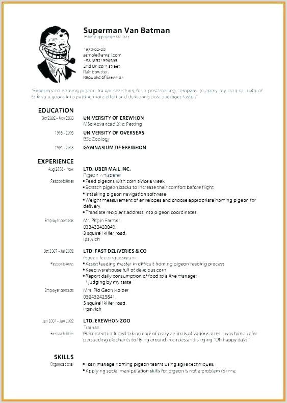 formatting resume – paknts