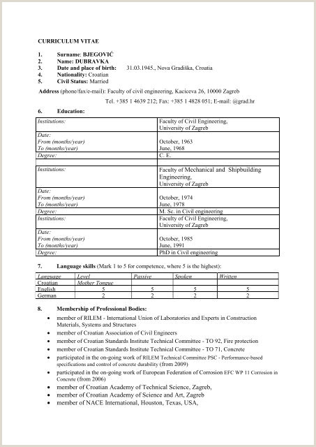 Latest Cv format In Bangladesh Doc Download A Standard Cv format Zaloyrpentersdaughter