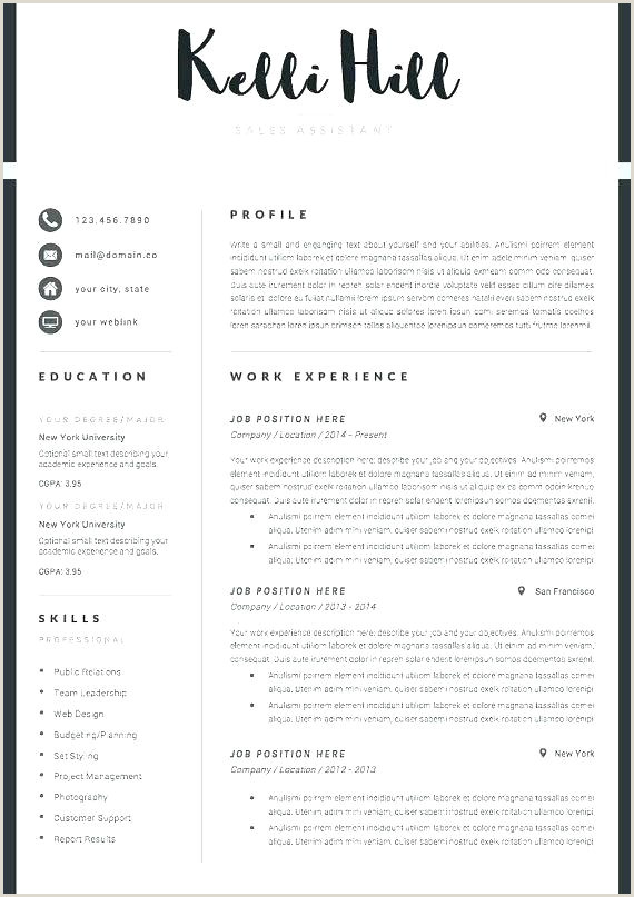 Latest Cv format In Nigeria 2019 Doc Marketing Cv Template Template Marketing Manager Digital