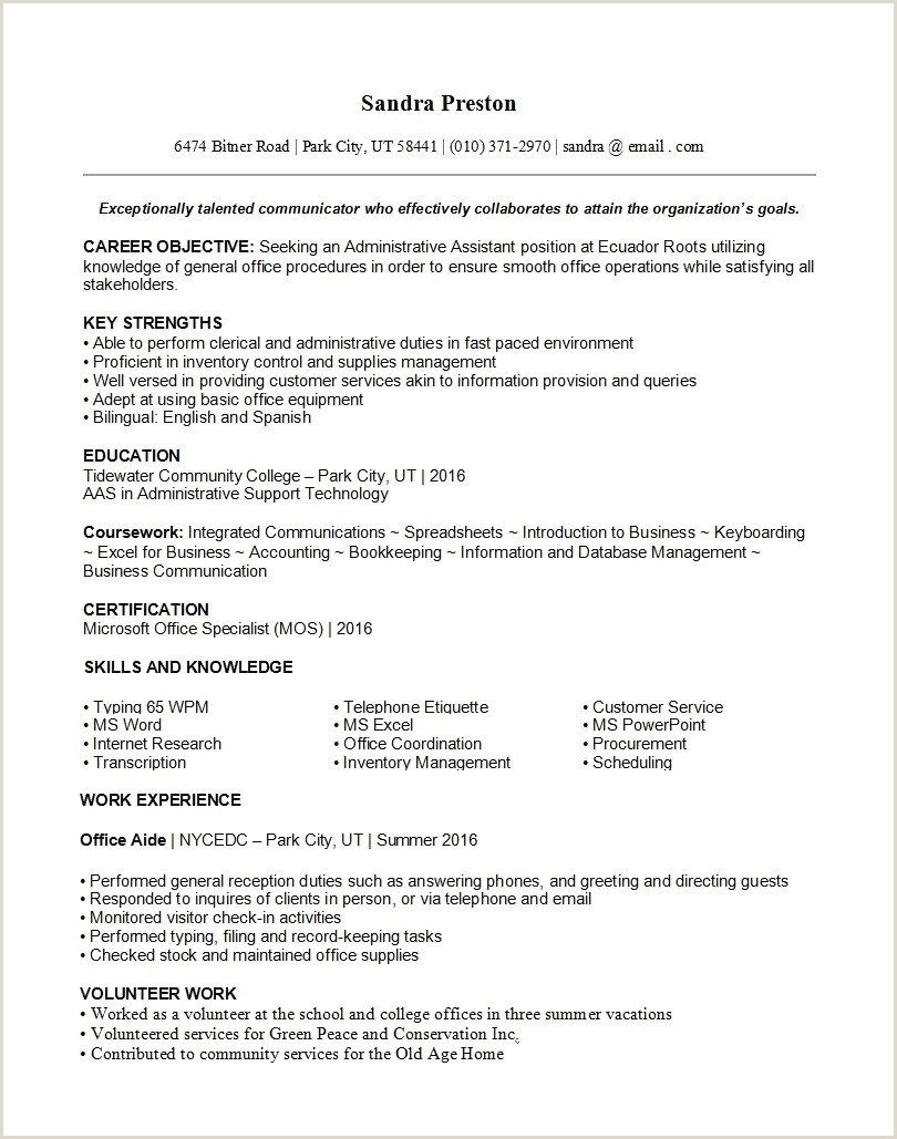 Latest Cv format In Nigeria 2019 Pdf 10 How to Write Professional Cv Template Nigeria to Success