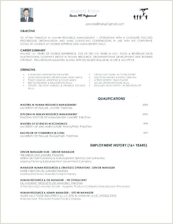 Latest Cv format In Uae Entry Level Cv Template