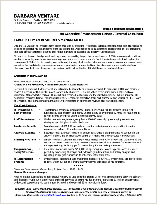 Latest Cv format India Resume Sample for Hr Manager