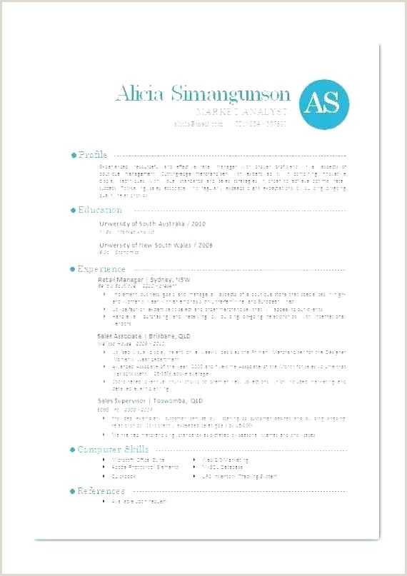 Modern Resume Template Cv Word Free Download South Africa 2019