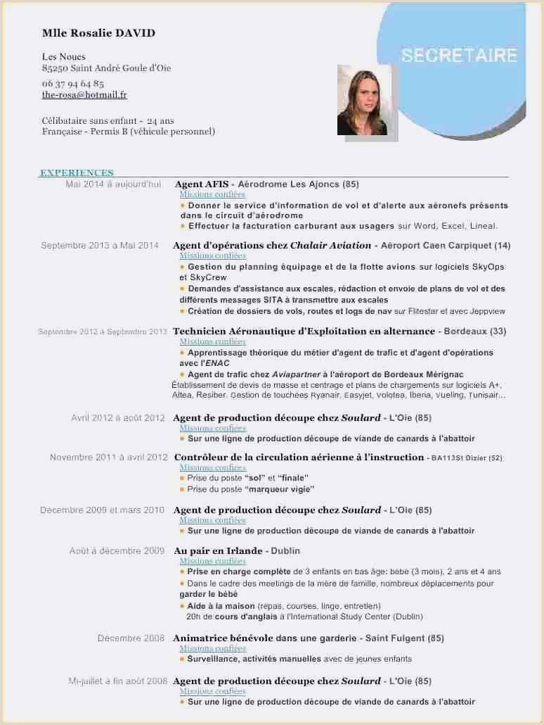 Latest International Standard Cv format Logiciel Pour Lettre De Motivation Et Cv Gratuit format De