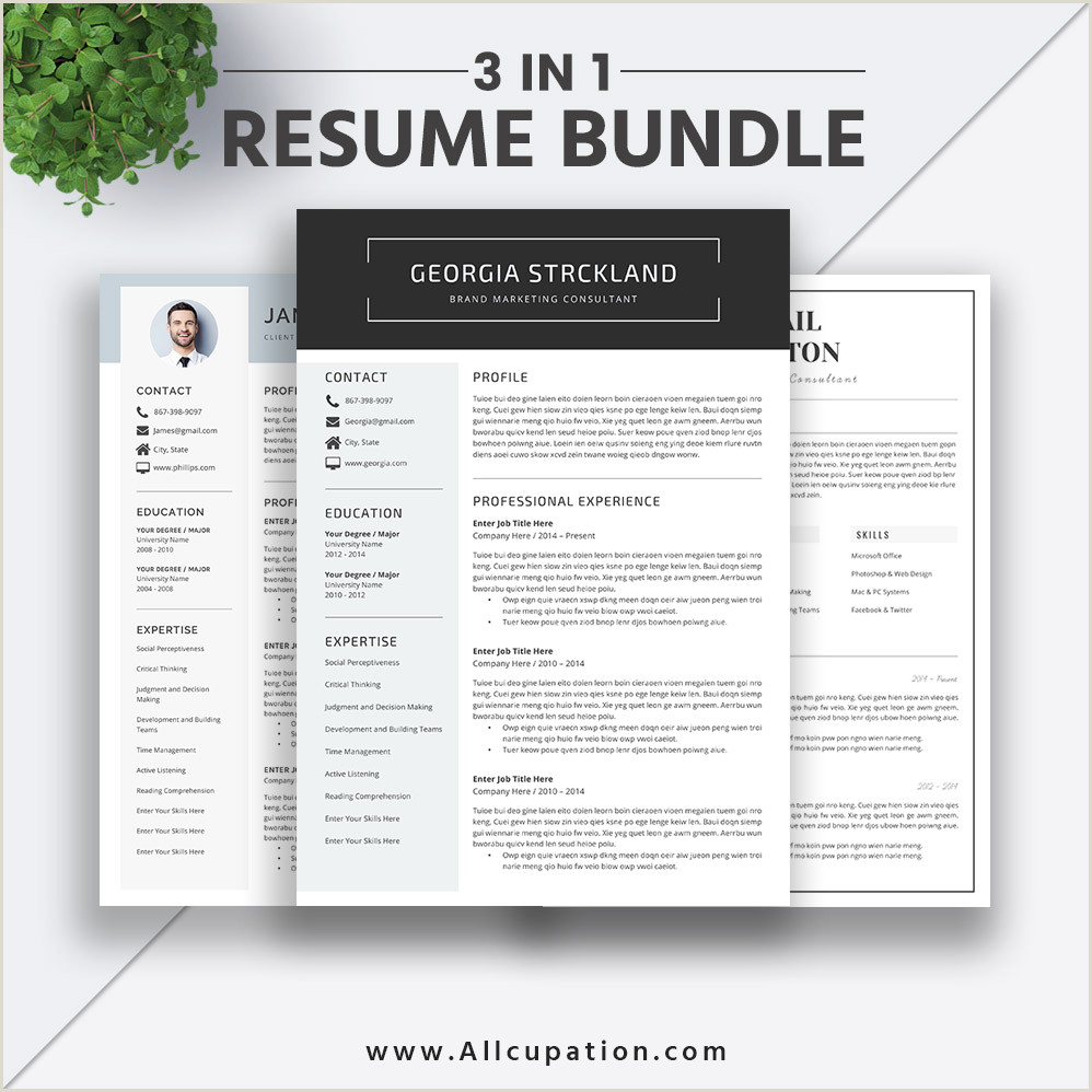 Latest Modern Cv format 2019 Best Selling Resume Bundle the Georgia Rb Simple Resume format Modern Cv Bundle Word Resume Cover Letter Professional Resume Design Instant