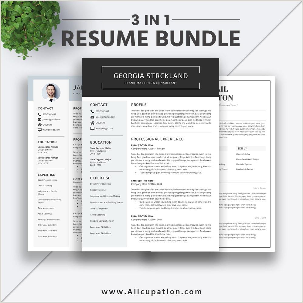 Latest Modern Cv Format 2019 Best Selling Resume Bundle The Georgia Rb Simple Resume Format Modern Cv Bundle Word Resume Cover Letter Professional Resume Design Instant
