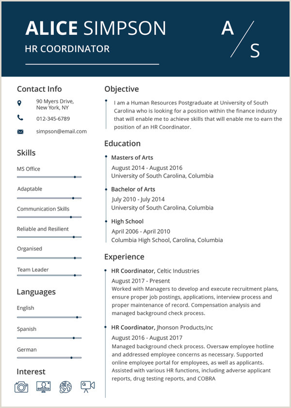 Latest Modern Cv format Microsoft Word Resume Template 49 Free Samples Examples