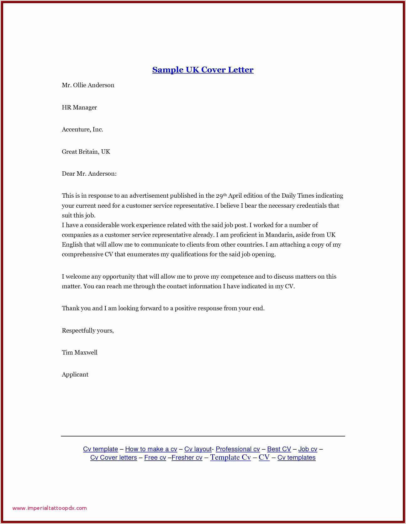 Ready Made Cover Letter for Job Application Awesome Latest