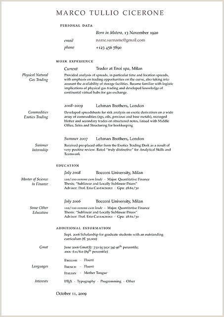 Latest Standard Cv format Simple Latex Cv Template – Metabots