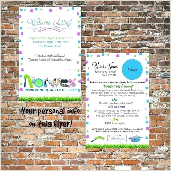 Unique Norwex Party Invitation And How To Have A Successful