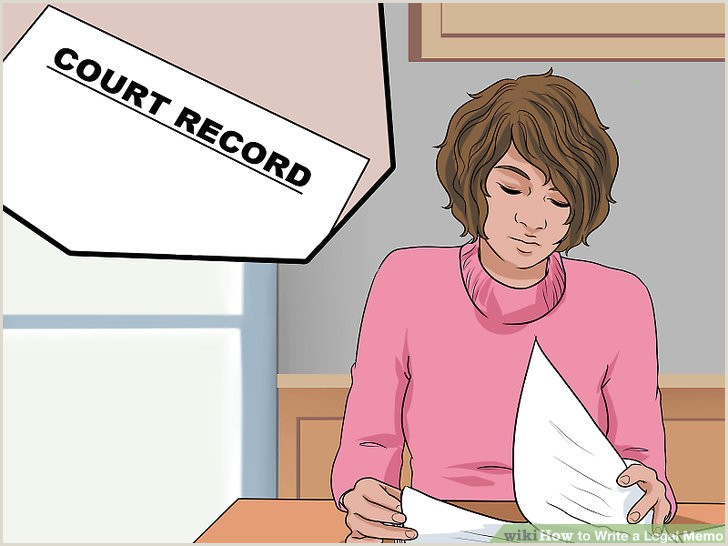 Law School Memorandum Example How to Write A Legal Memo with Wikihow