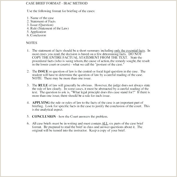 Related Post Law School Brief Format Resume Case Example