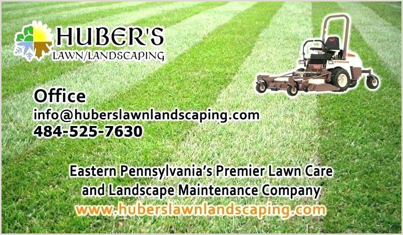 Lawn Care Business Cards Luxury Landscaping Mower Card