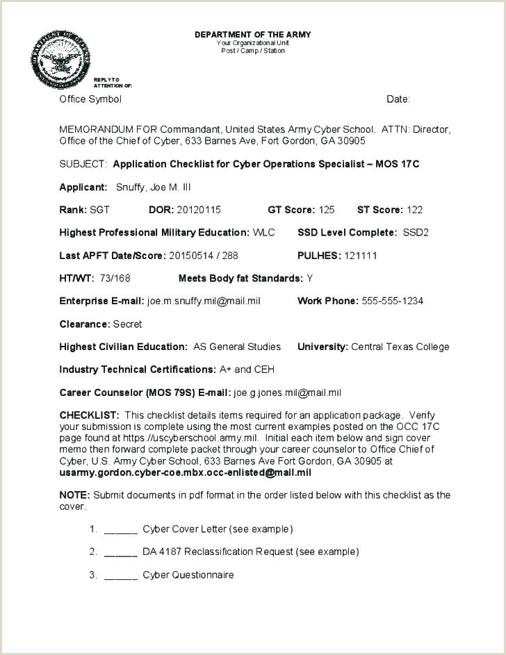 Layoff Letter Example Army Policy Letter Example Decision Memo Template Violation