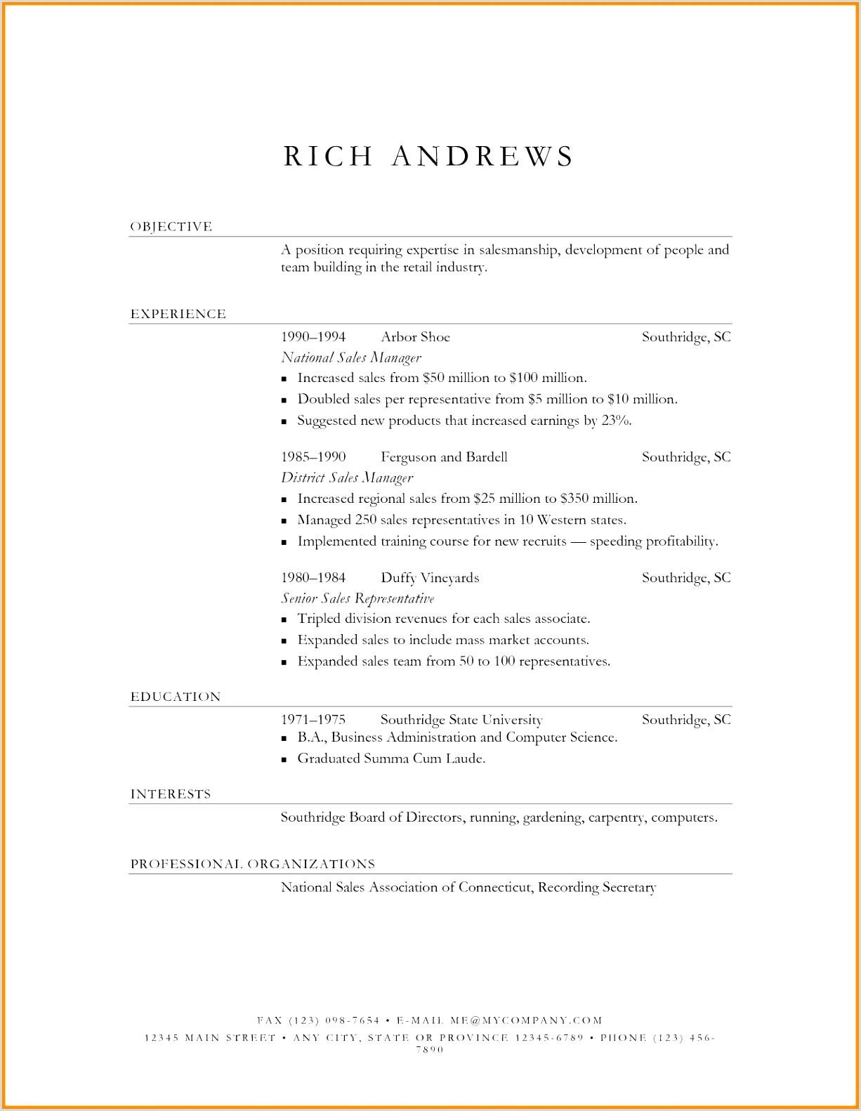 19 Englischer Lebenslauf Vorlage Vorlagen123 Vorlagen123