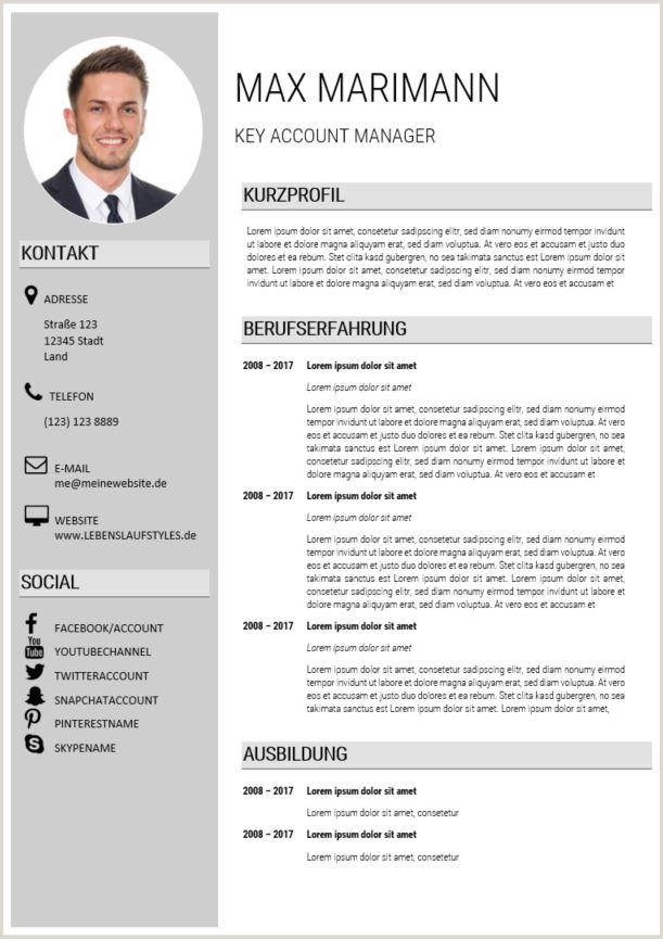 Lebenslauf Muster Berufserfahrung 14 Lebenslauf Muster Manager