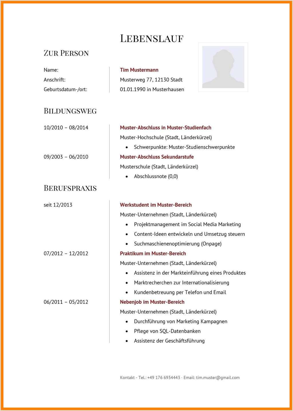 Lebenslauf Muster Bundesagentur Für Arbeit 13 Lebenslauf Hundertwasser