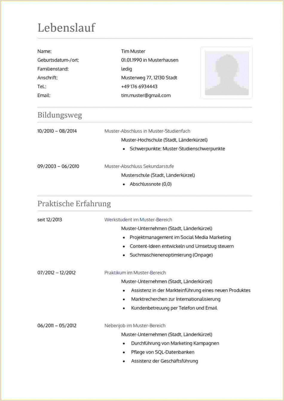 Lebenslauf Muster Einbürgerungsantrag Galerie Von Lebenslauf Muster 2017 C Angelinna De Lebensla