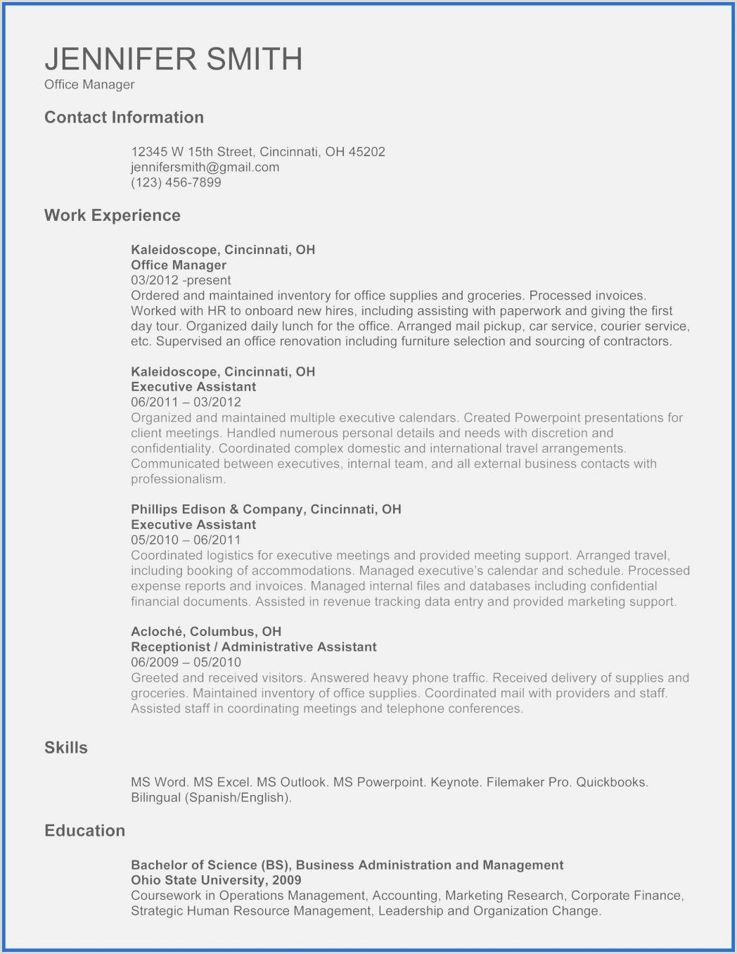Lebenslauf Muster Einzelhandel Bewerbungsunterlagen Vorlage Word 2010 Salumguilher E for