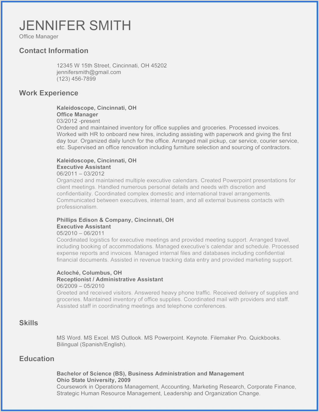 Word 2010 Salumguilher E For Luxury English Cv Format In 0d