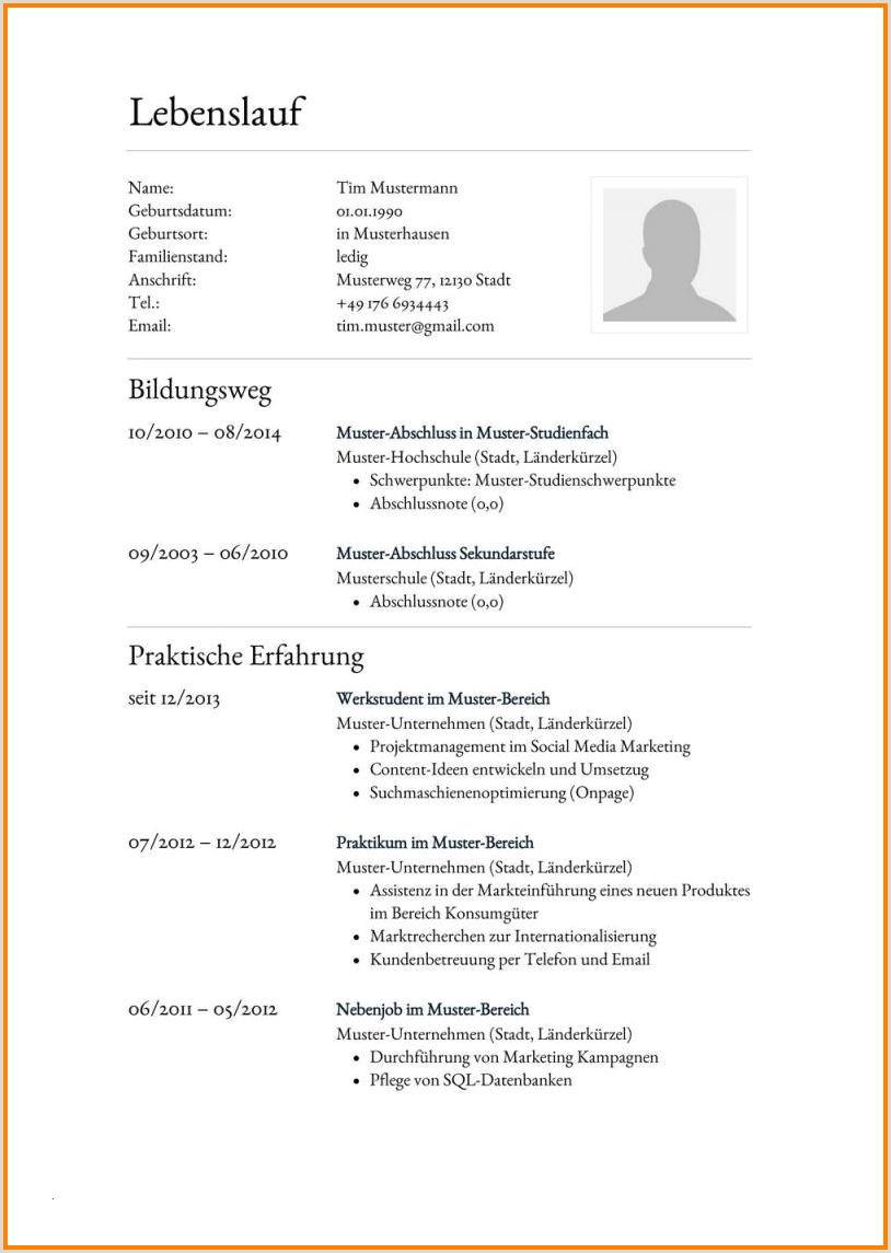 Lebenslauf Muster Groß Und Außenhandelskaufmann 9 Vorlage Lebenslauf 2015 Yadvashem