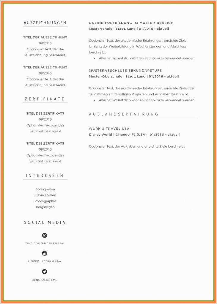 Lebenslauf Muster Handgeschrieben 20 andschriftlicher Tabellarischer Lebenslauf Muster