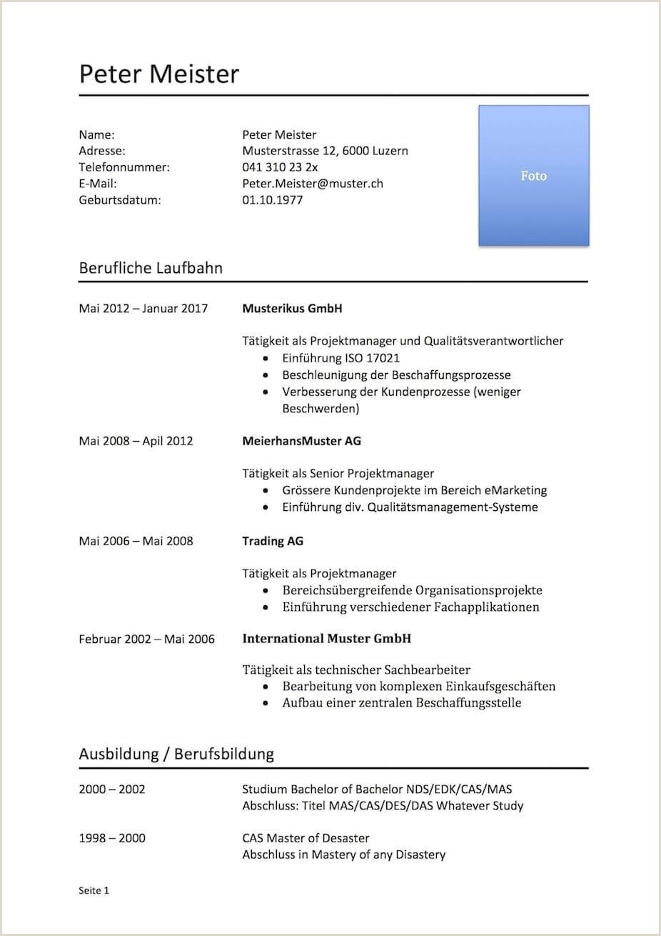 Lebenslauf Muster Hotellerie 15 Bewerbungsschreiben Lehrstelle