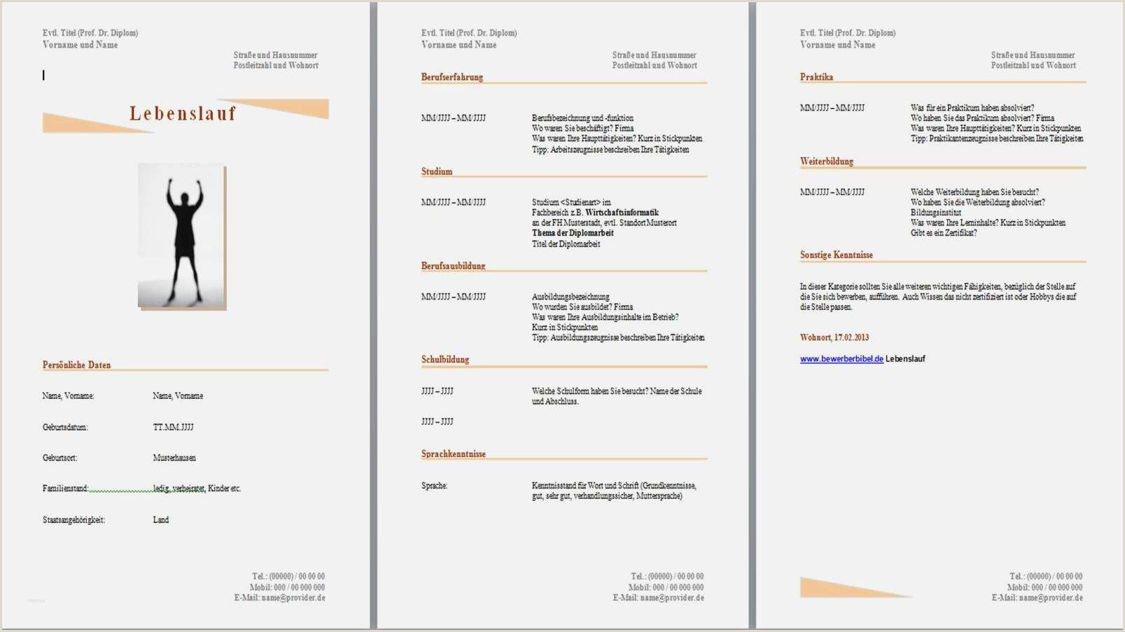 Lebenslauf Muster Ihk 10 Lebenslauf Muster Kostenlos Download townandlimo