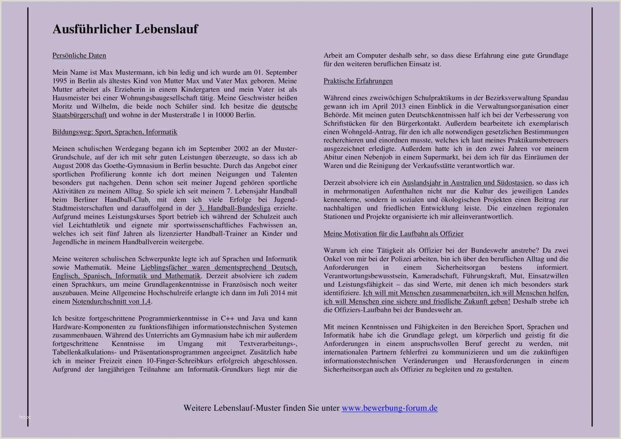 Lebenslauf Muster Informatiker 19 Coolhandschriftlicher Ausführlicher Lebenslauf Muster