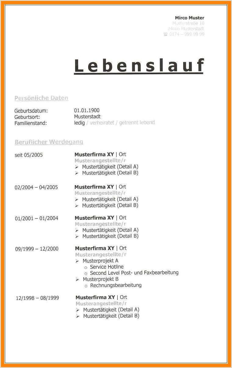 Lebenslauf Muster Lehre 17 Vorlage Lebenslauf Ausbildung