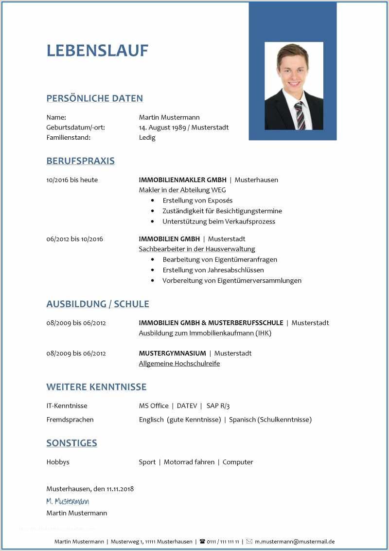 Lebenslauf Muster Lehre 57 Lovely Lebenslauf Bundeswehr