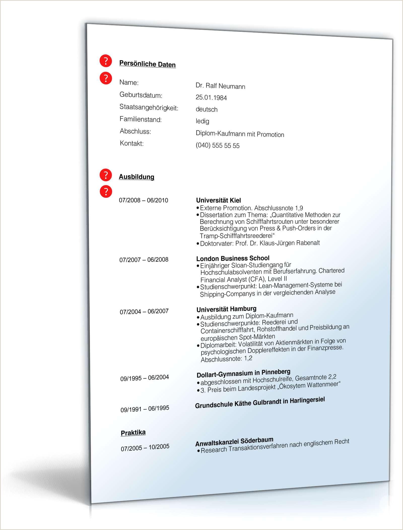 Lebenslauf Muster Mit Berufserfahrung 13 Lebenslauf Berufserfahrung