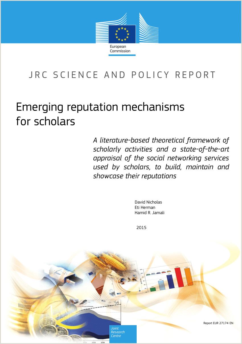 Lebenslauf Muster Nationalität Pdf Emerging Reputation Mechanisms for Scholars