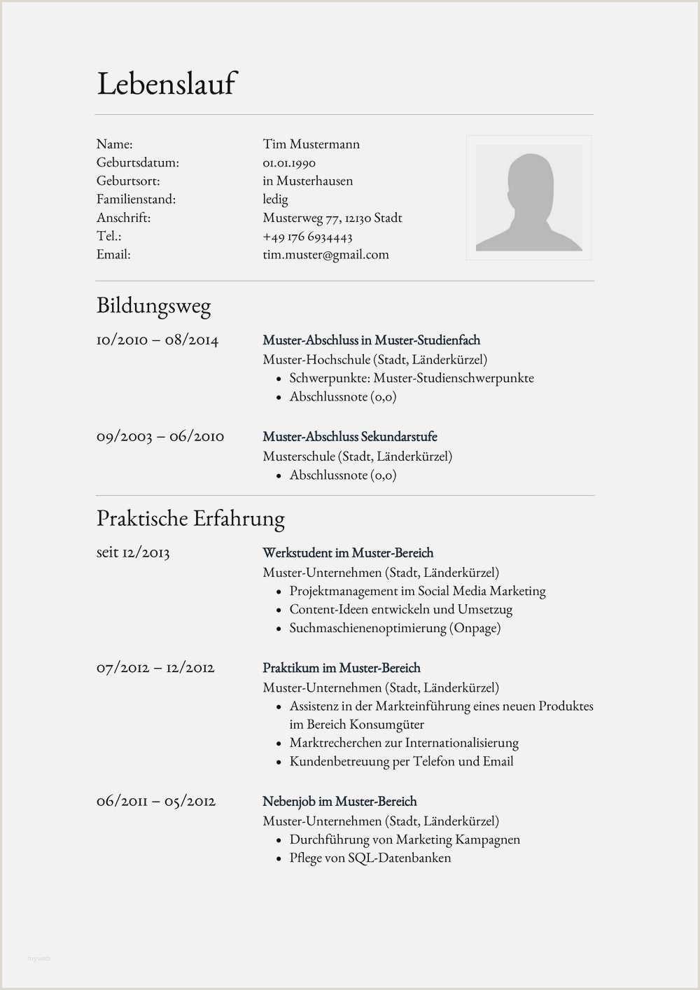 21 Lebenslauf Vorlage 2014 Yad Vashem