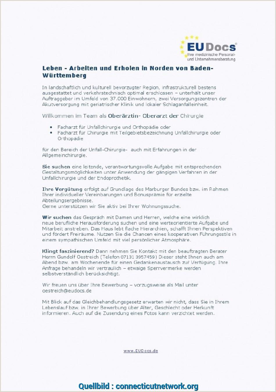 Lebenslauf Muster Oberarzt Qualifiziert 15 Bewerbungsschreiben Krankenschwester Muster