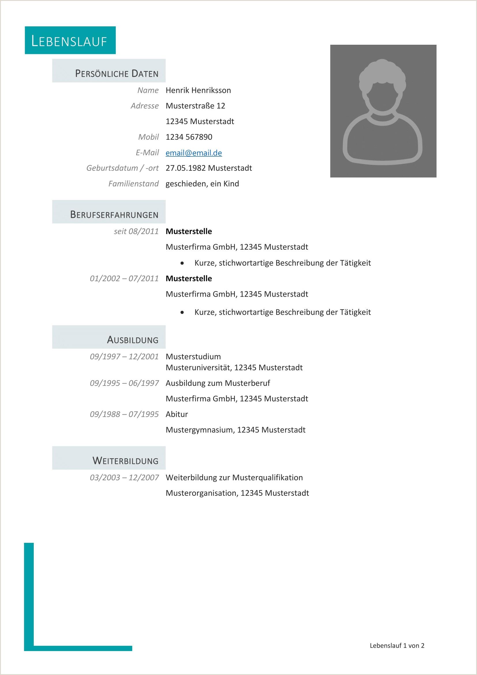 Lebenslauf Muster Ohne Registrierung 14 Beispiel Lebenslauf Vorlagen Kostenlos Ohne Registrierung