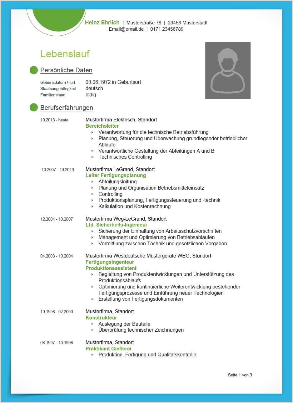 Lebenslauf Muster Online Bewerbung 12 Perfekte Bewerbung Muster