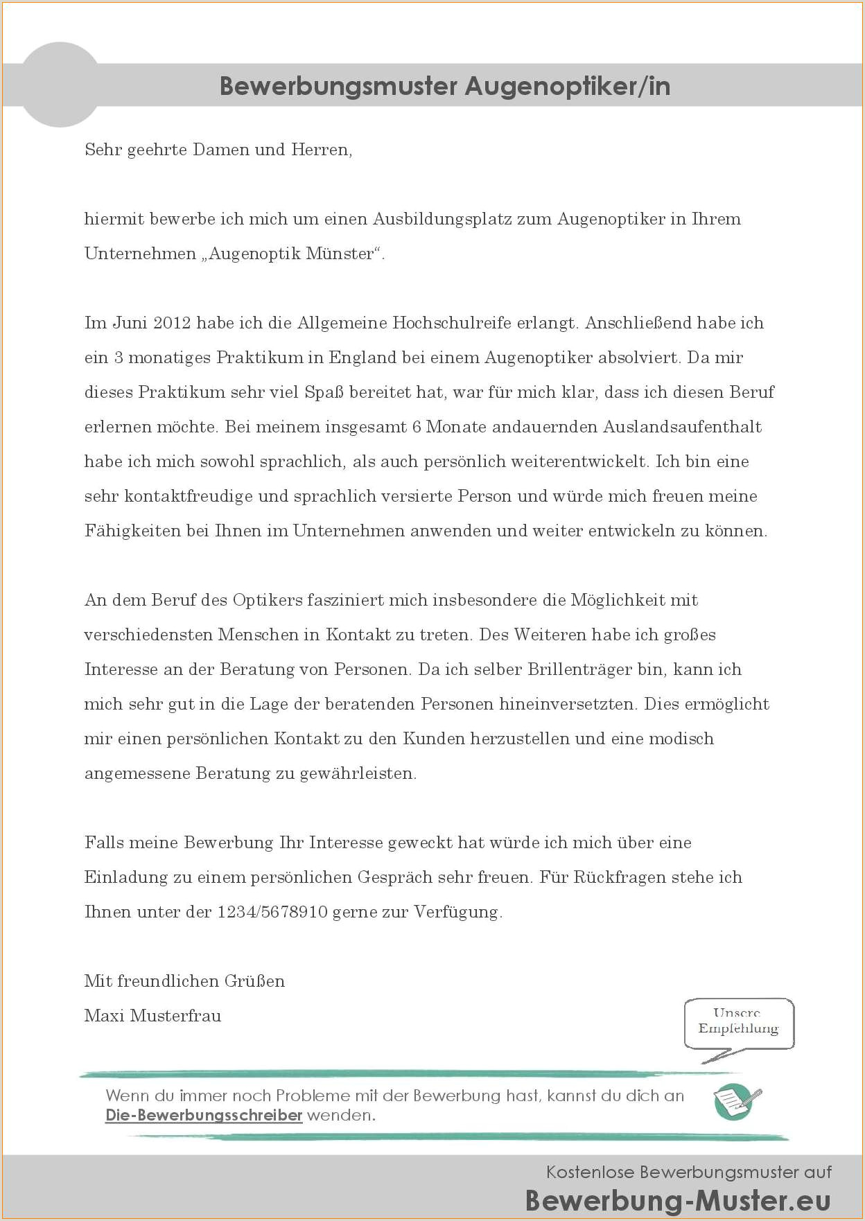 Lebenslauf Muster Optiker Praktikum Brief 2019 01 15t22 21
