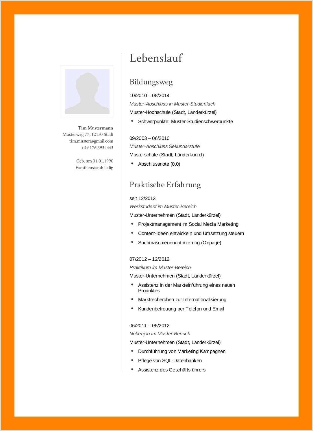 Lebenslauf Muster Qualitätsingenieur Anschreiben Praktikum Student 2019 01